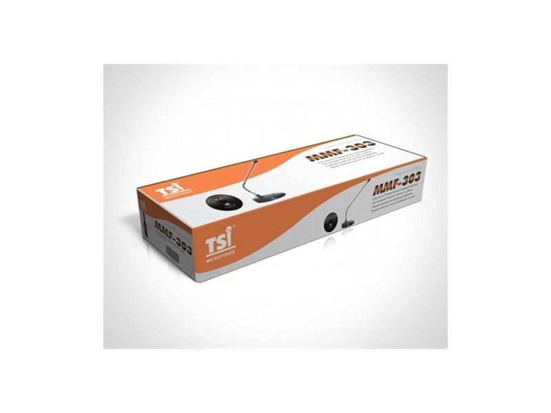 MICROFONE COM FIO TSI GOOSENECK MMF-303