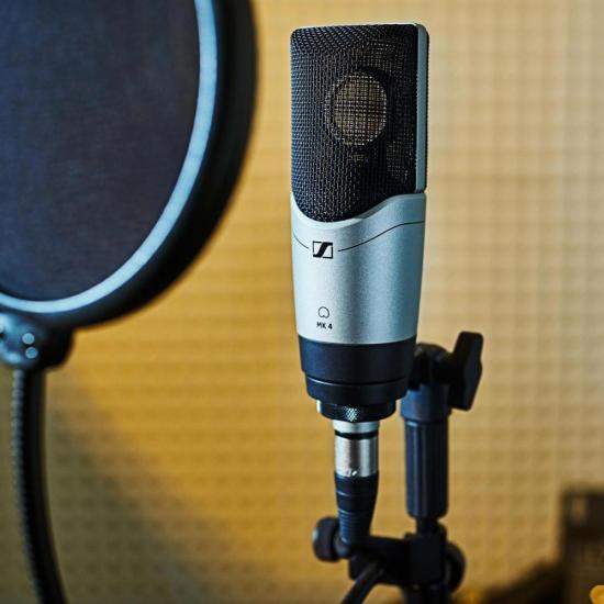 Microfone Condensador Cardióide MK 4 SENNHEISER