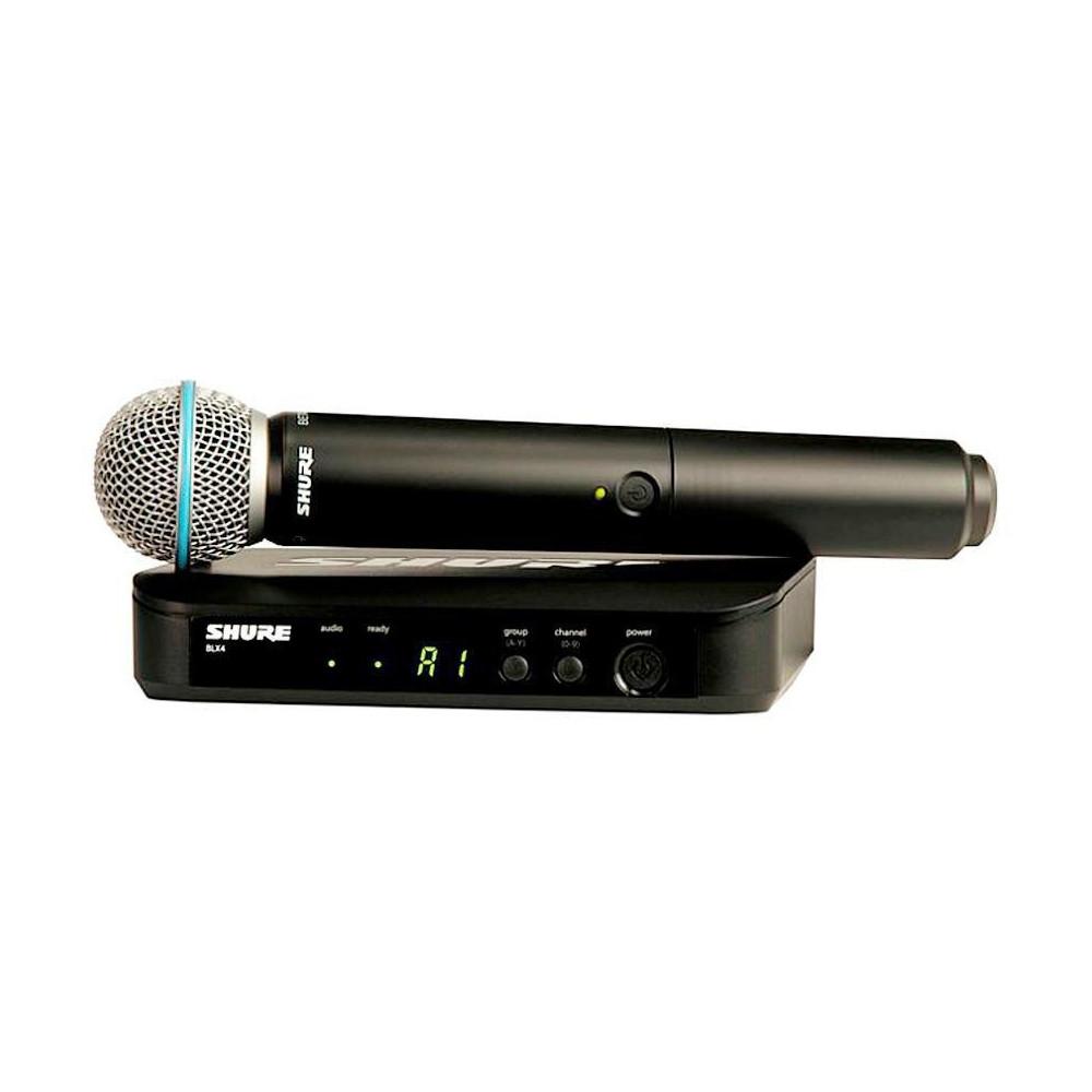 MICROFONE S/ FIO SHURE BLX24RBR/B58-J10