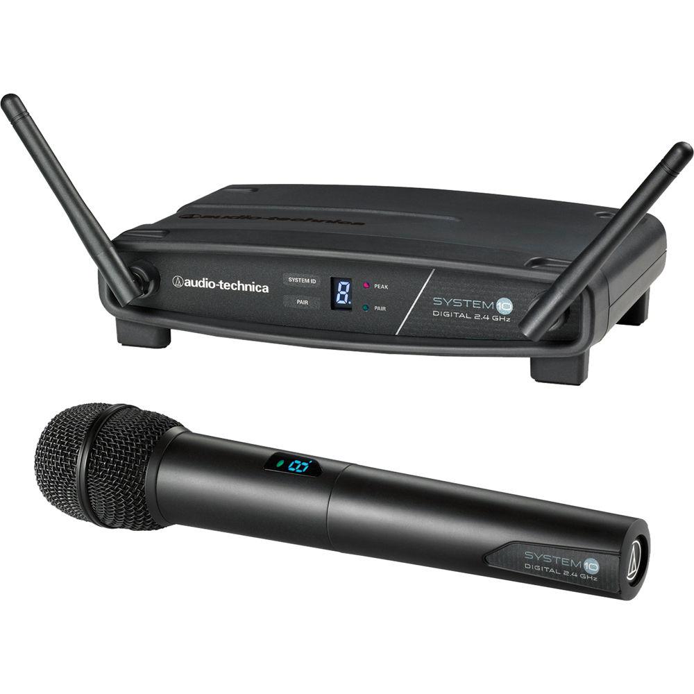 MICROFONE SEM FIO AUDIO-TECHNICA MÃO ATW-1102