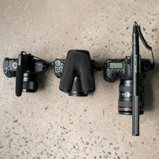 Microfone Shotgun MKE 440 Preto SENNHEISER