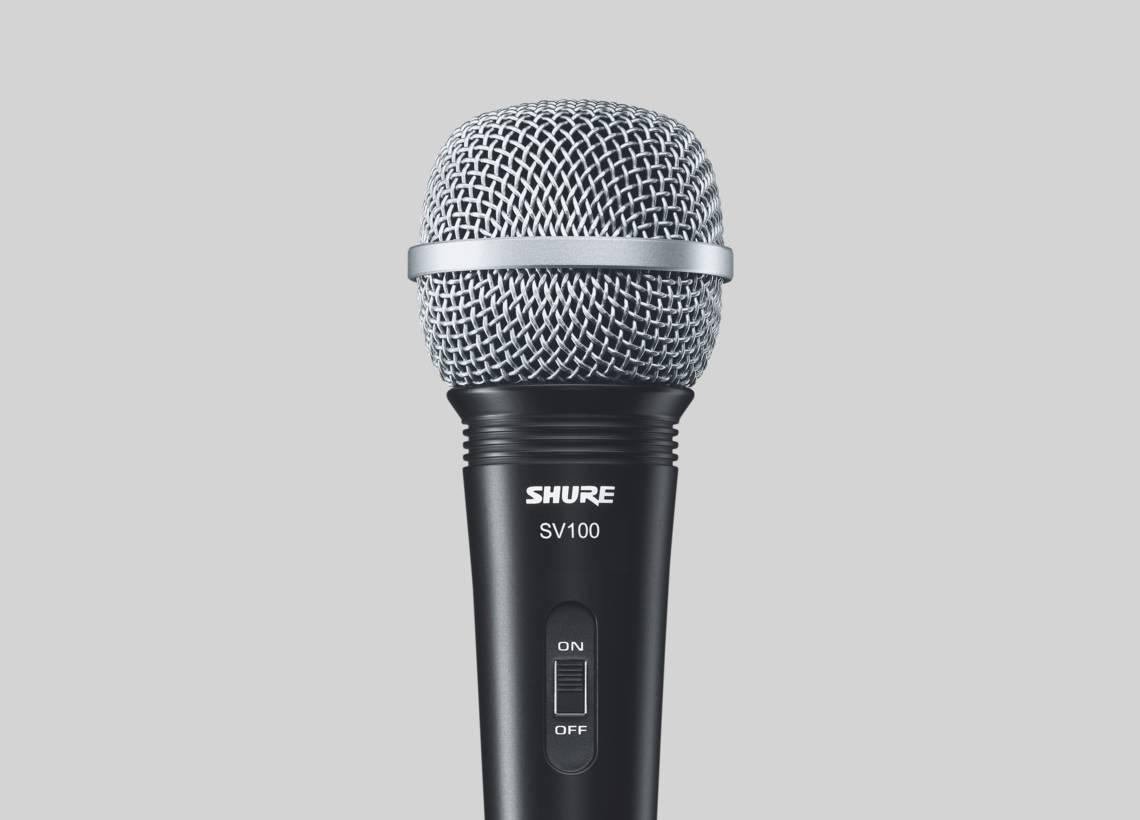 MICROFONE SHURE VOCAL SV100