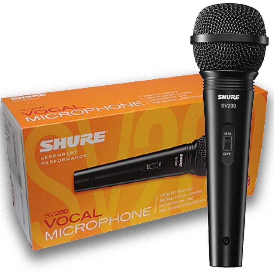 MICROFONE SHURE VOCAL SV200