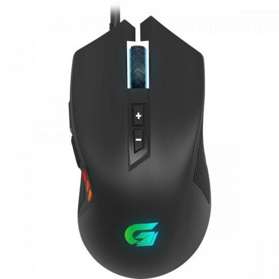 Mouse Gamer VICKERS RGB 4200DPI Preto FORTREK G