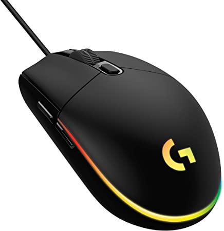 MOUSE LOGITECH GAMER G203 OPT USB PTO