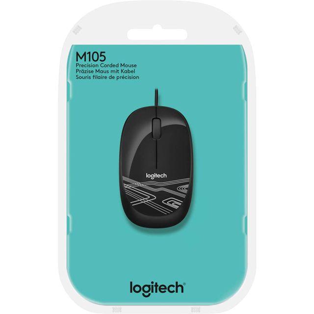 MOUSE OPTICO USB PRETO M105 LOGITECH