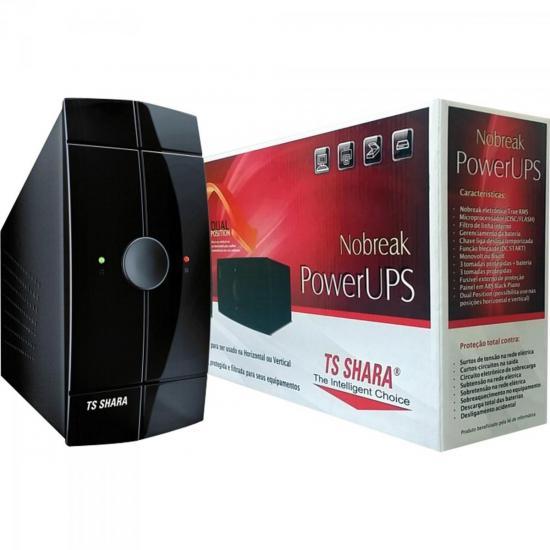 Nobreak 700VA POWER UPS Bivolt Preto TS SHARA
