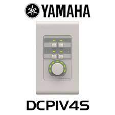 PAINEL DE CONTROLE DIGITAL YAMAHA 1 VOLUME E 4 SWITCH DCP1V4S