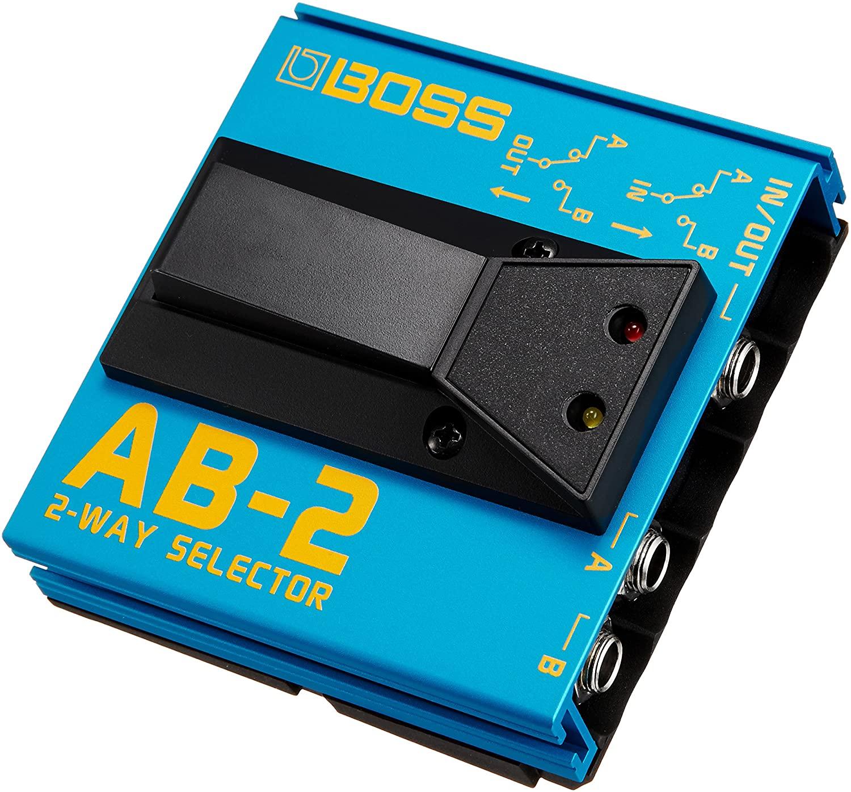 PEDAL BOSS AB-2 FOOT/AB BOX