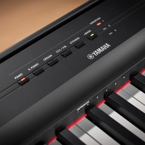 PIANO YAMAHA P-125B//BRA ZX53360