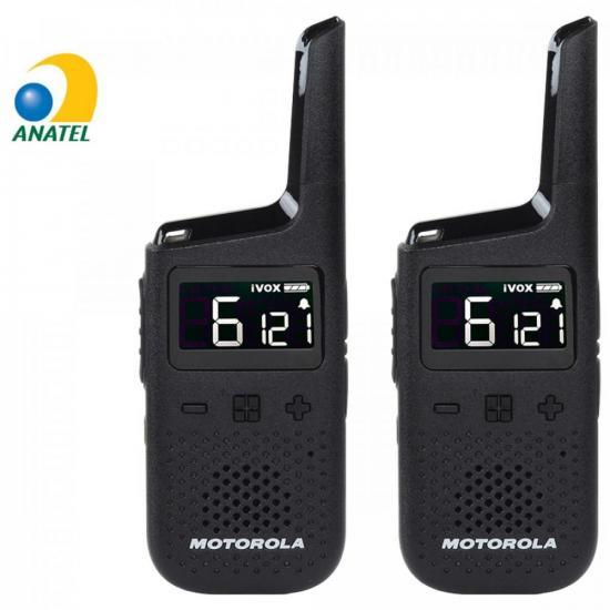 Radio Comunicador Talkabout 32km T38BR Preto MOTOROLA - PAR / 2