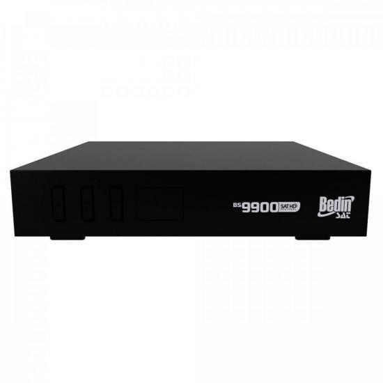 Receptor Regional Sat HD BS9900 Preto BEDINSAT