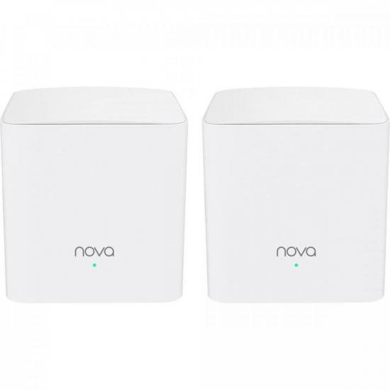 Roteador Wi-Fi Mesh com 2 Gigabit Dual Band MW5C Branco TENDA