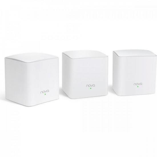 Roteador Wi-Fi Mesh com 3 Gigabit Dual Band MW5C Branco TENDA