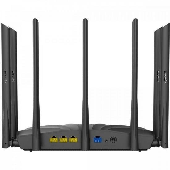 Roteador Wireless Gigabit 1200Mbps Dual Band AC23 Preto TENDA