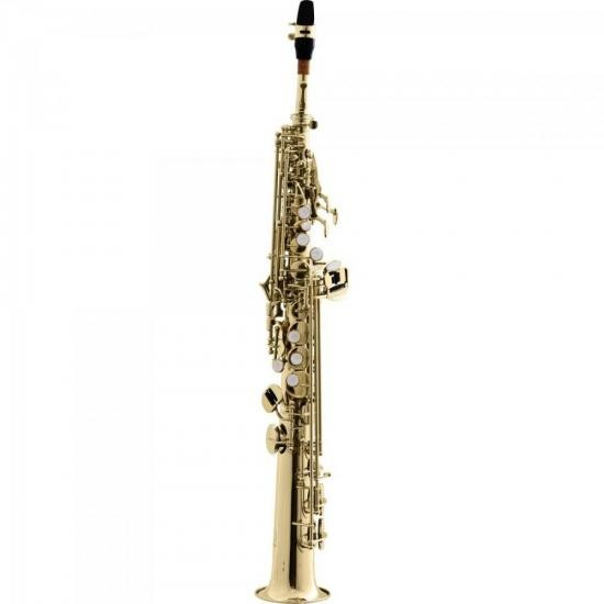 Saxofone Soprano Reto Bb HST410L Laqueado HARMONICS