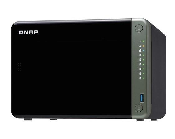 SERVIDOR DE DADOS NAS INTEL QUAD CORE 2.0GHZ - 4GB - 6 BAIAS SEM DISCO - TS-653D-4G-US