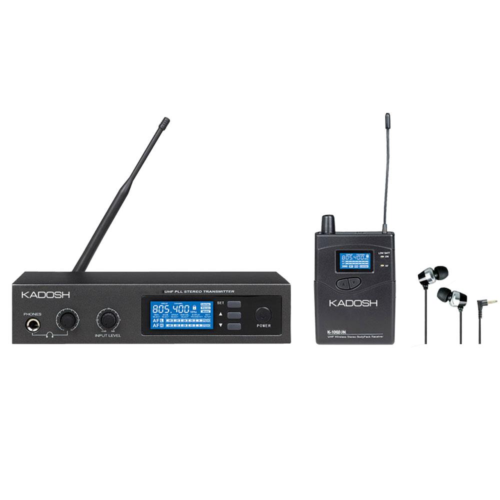 SISTEMA IN-EAR KADOSH K-1000 IN UHF (028023)