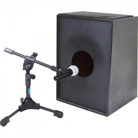 Suporte Para Microfonar Bumbo MB Preto ASK