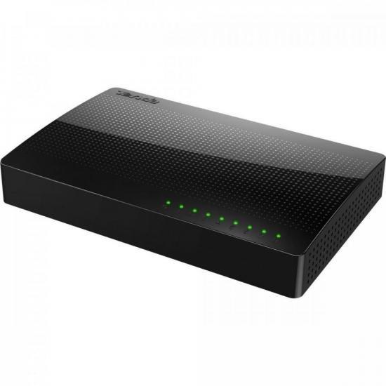 Switch 8 Portas Giga 100MBPS SG108 TENDA