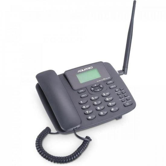 Telefone Celular Fixo CA42-S 3G Preto AQUARIO