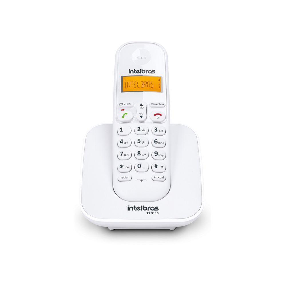 TELEFONE INTELBRAS TS 3110 BRANCO