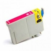 Cartucho de tinta Epson T0633 compatível magenta 12 ml [ C67, C87, CX3700, CX4100, CX4700, CX5700, CX7700]