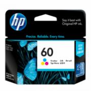 Cartucho de Tinta HP 60 Color Original[ 1660, 2530, 2545, 2560, 2660, 4280, 4480, 4580, 4680, 4780 ]