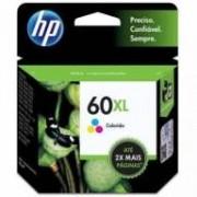 Cartucho de Tinta HP 60XL Color Original [D2530 , D2545 , D2560 , F4280  ,F4480 ,F4680, HP Deskjet 1660 ]