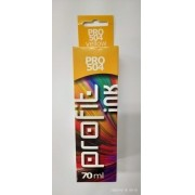 Refil de tinta Epson 544 504 amarelo compatível 70 ml [ L3110, L3150, L4150, L4160, L6171, L6161, L6191 ]