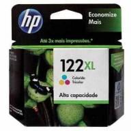 Cartucho de Tinta HP 122XL Color Original [ 1000, 2000, 2050, 3050 ]
