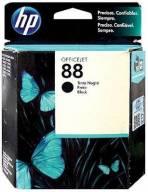 Cartucho de Tinta HP 88 Preto Original [ K550 , K5400 , K8600 , L7550 , L7580 , L7590 , L7650 , L7680 , L7750 , L7780 ]