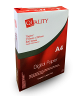 Papel A4 Quality Paper - Caixa com 10 resmas de 500 folhas