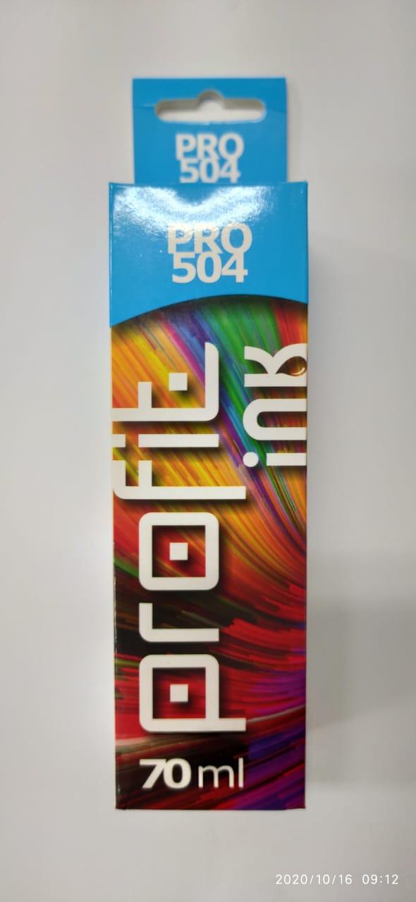 Refil de tinta Epson 544 504 azul compatível 70 ml [ L3110, L3150, L4150, L4160, L6171, L6161, L6191 ]