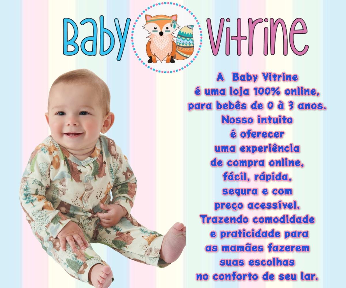 MACAQUINHO UP BABY CURTO  MASCULINO MENINO CACHORRINHO AZUL