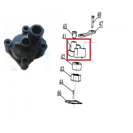 Carcaça Bomba Agua Mercury / Hidea 6 / 8 / 9.8 HP