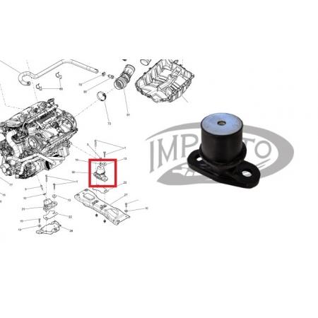 Coxim Motor Jet Sea 4 TEC Dianteiro
