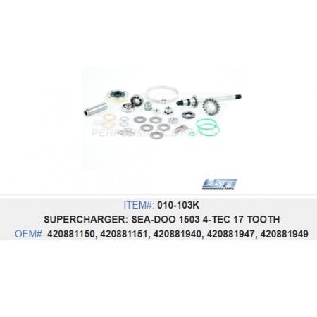 Kit Supercharger Jet Sea 4 TEC - WSM