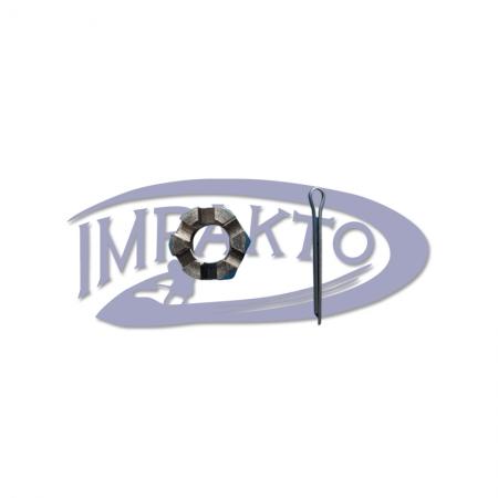 Porca Helice Motor Mercury 15 HP - Super