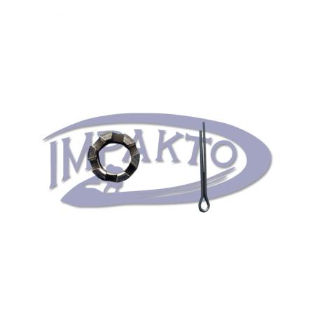 Porca Helice Motor Suzuki 25 / 30 HP