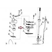 RETENTOR BOMBA AGUA MERCURY 9.8 HP