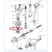 Retentor Bomba D Agua Tohatsu 9 a 15 HP