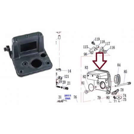 Silenciador Carburador Yamaha 9.9 / 15 HP