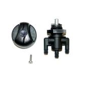 Valvula Gasolina Universal  (Botão Reto) - WSM