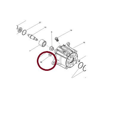 Anodo Jet Sea Doo 4-TEC / Tohatsu 3.5 a 40 HP