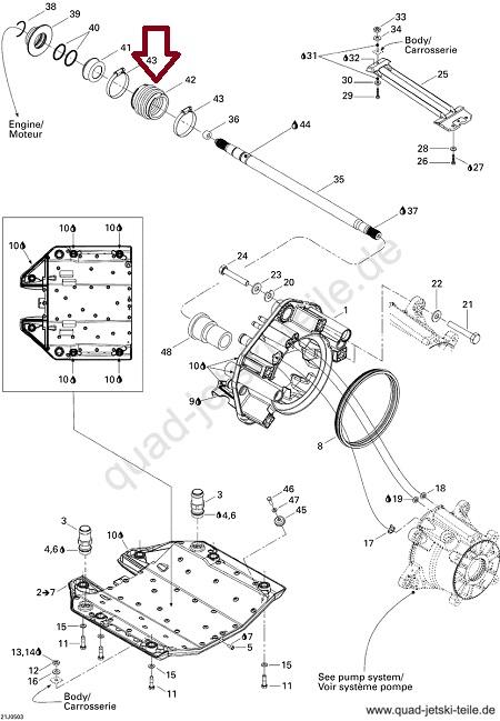 Borracha Sanfonada Jet Sea GTI / GTS / GTX / RXP