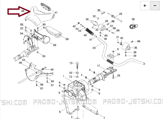 Capa Guidao Sea GTI / GTI RFI / XP - SUPERIOR