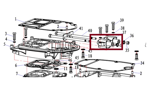 Coxim Superior Yamaha 40 HP