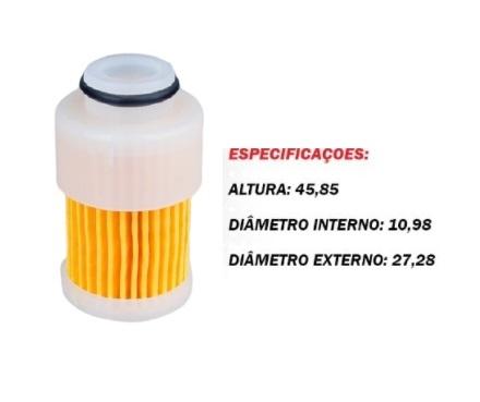 Filtro Gasolina Yamaha 60 / 90 / 115 4-Tempos