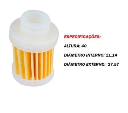 Filtro Gasolina Yamaha 60 / 90 / 115 HP 4-Tempos